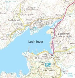 Lochinver-Map