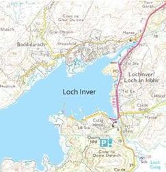 Lochinver-Map