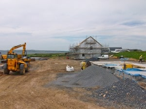 the Shoreline Project at Bowmore now on site